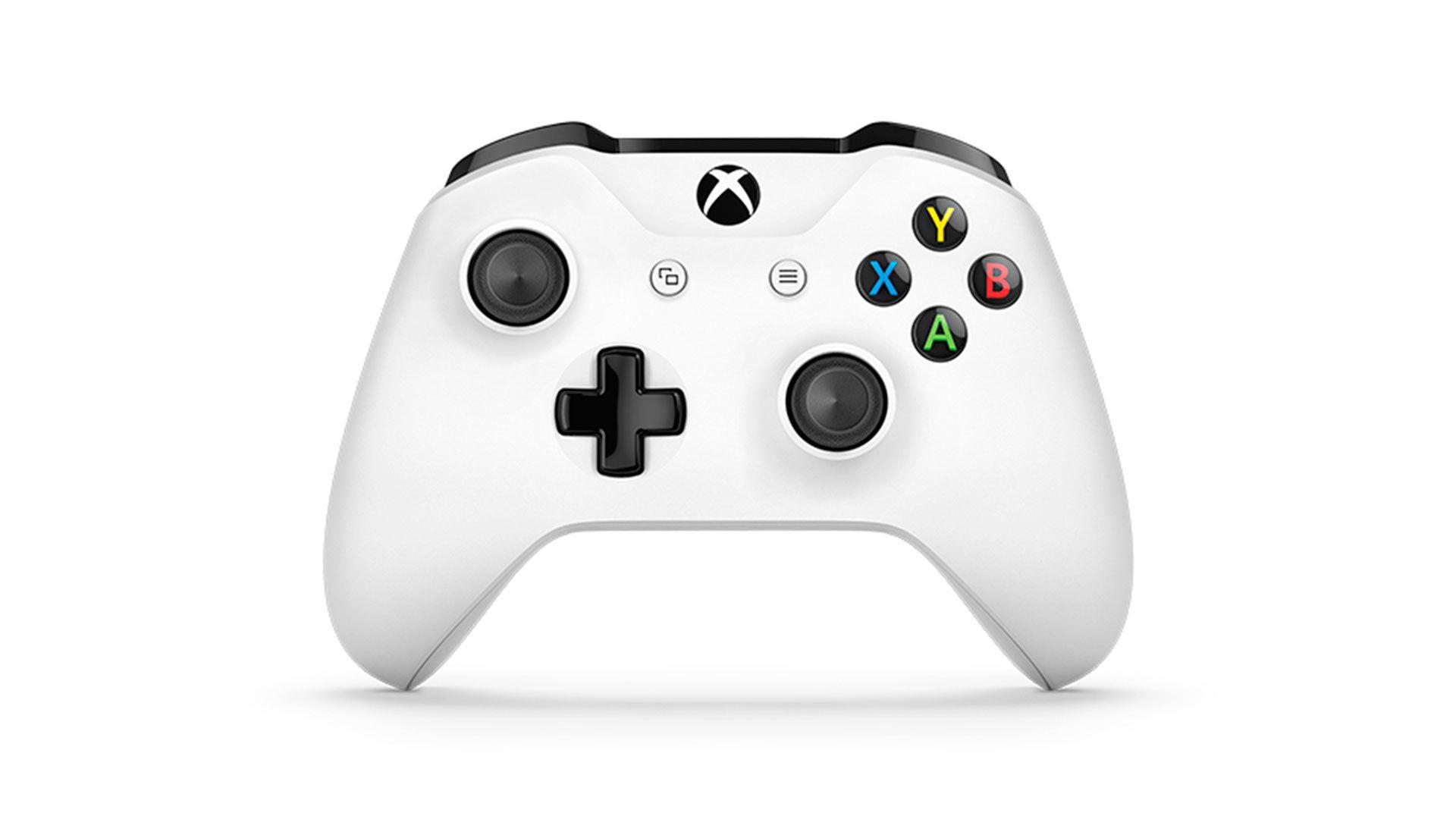 Xbox One белый геймпад изображение 0
