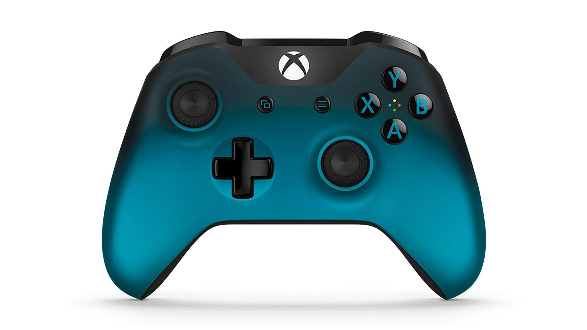 XBox One геймпад синий изображение 0