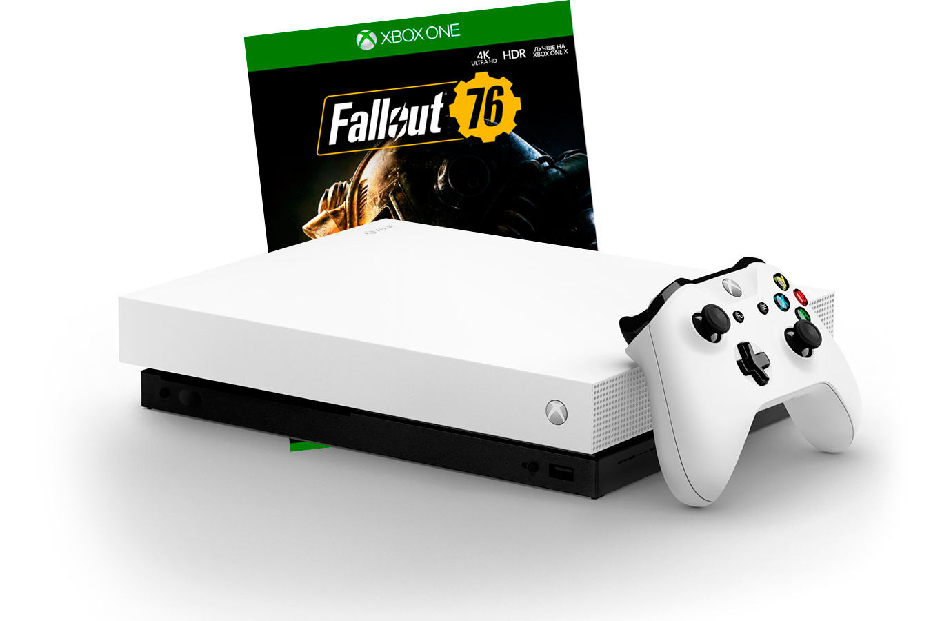 Xbox One X с игрой Fallout 76 [XXOW1F76]