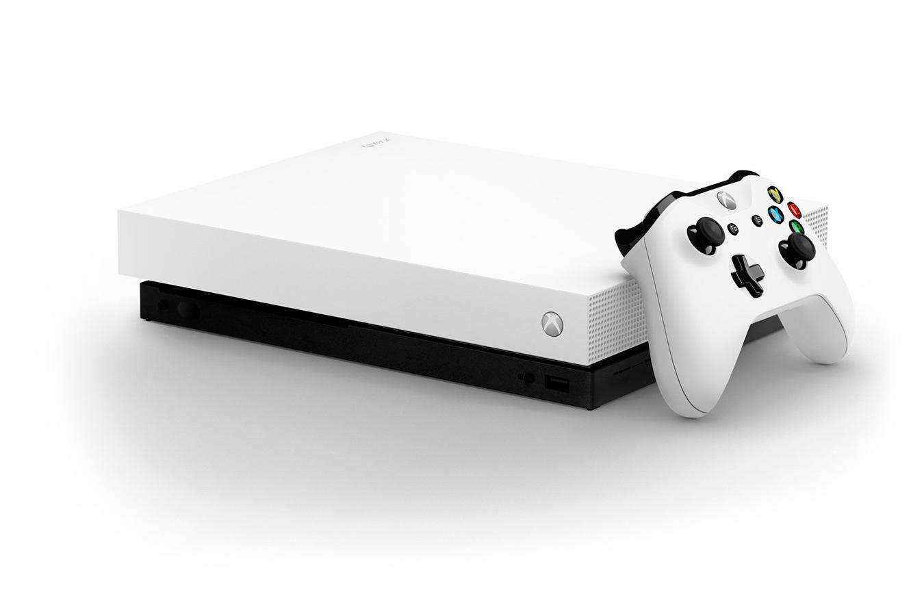 Xbox One X белая игровая приставка [XXOW1Z]