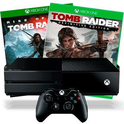 Xbox One Tomb Raider подарочная версия