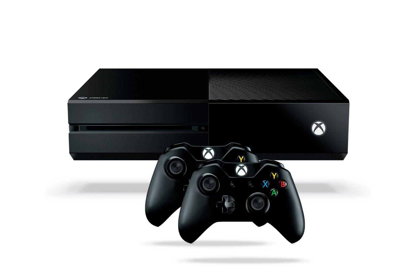 Microsoft Xbox One 1Tb игровая приставка и 2 джойстика [XO1J2]