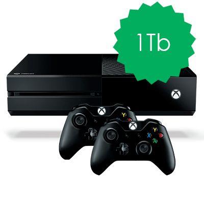 Xbox One 1Tb 2 джойстика