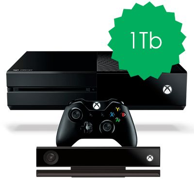 Xbox One 1Tb Kinect 2.0
