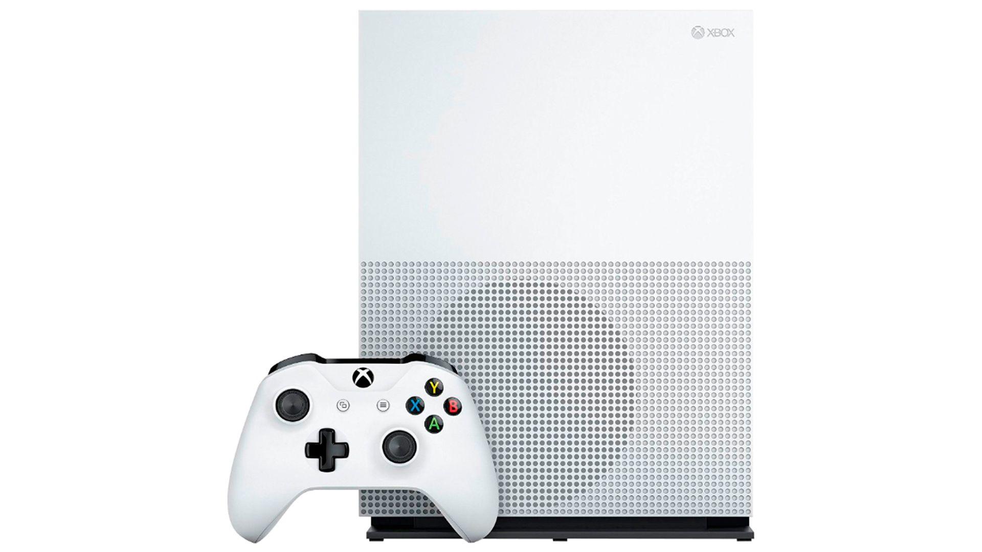 Xbox One S 1Tb 2 джойстика и FIFA 17 изображение 0