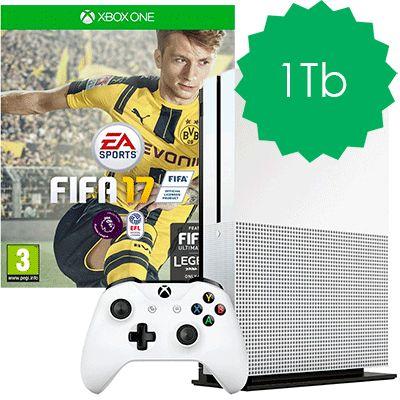 Xbox One S 1Tb FIFA 17