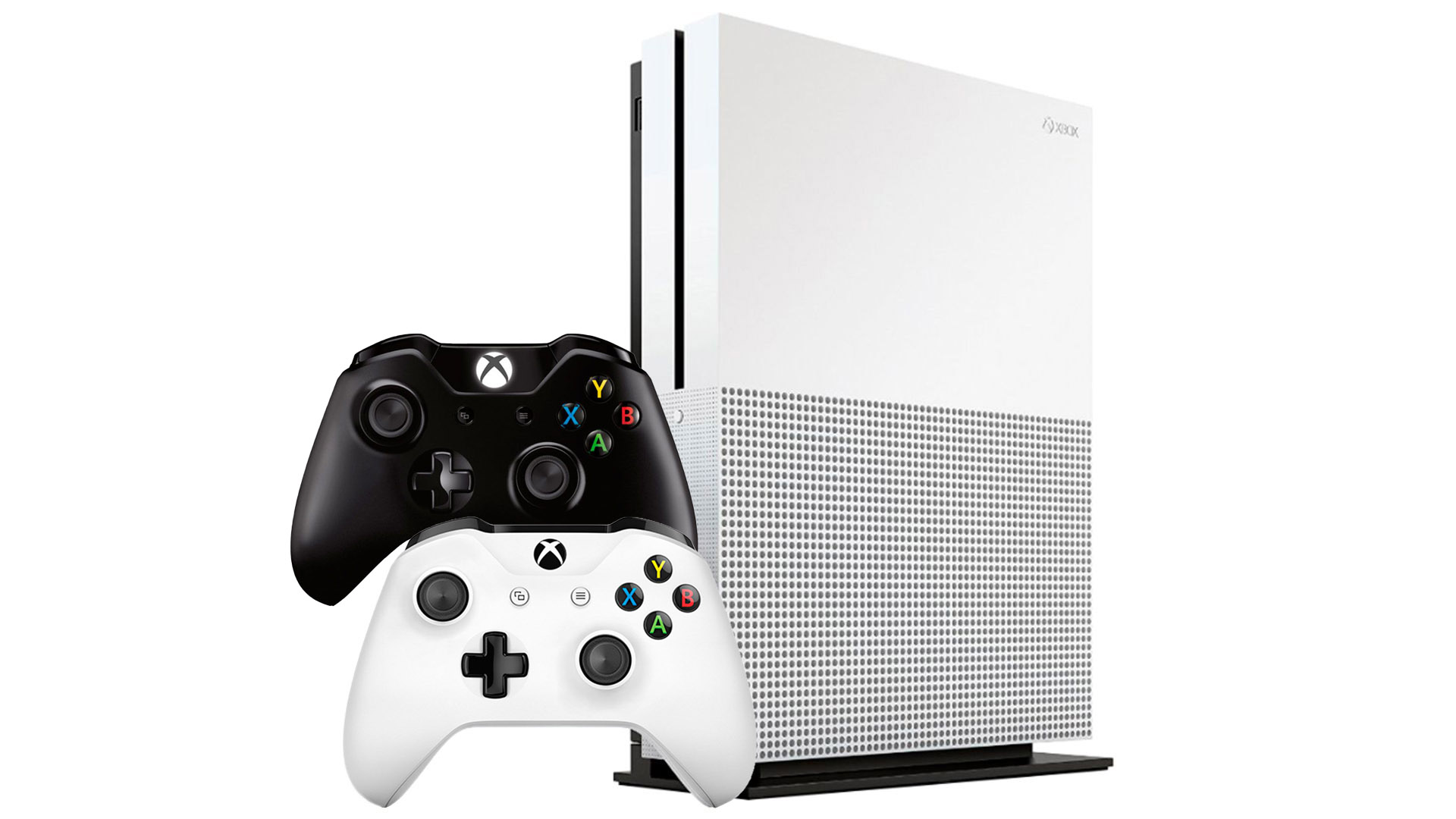 Xbox One S 1Tb 2 джойстика и игровая приставка [SXO12B]