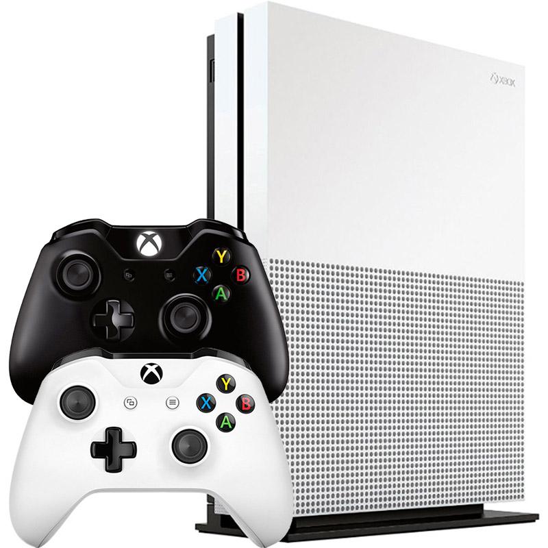 Xbox One S 1Tb 2 джойстика