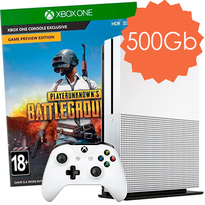 Xbox One S 500Gb BattleGrounds