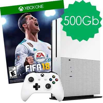 Xbox One S 500Gb FIFA 18