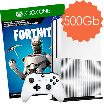 Xbox One S 500Gb Fortnite