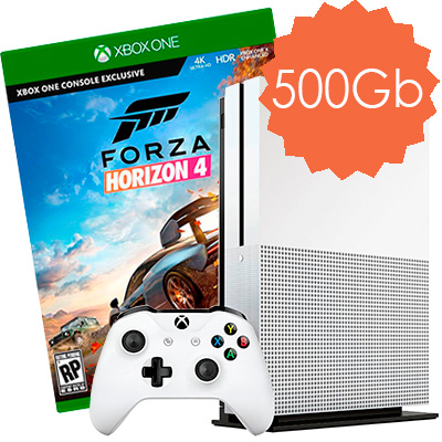 Xbox One S 500Gb Forza Horizon 4