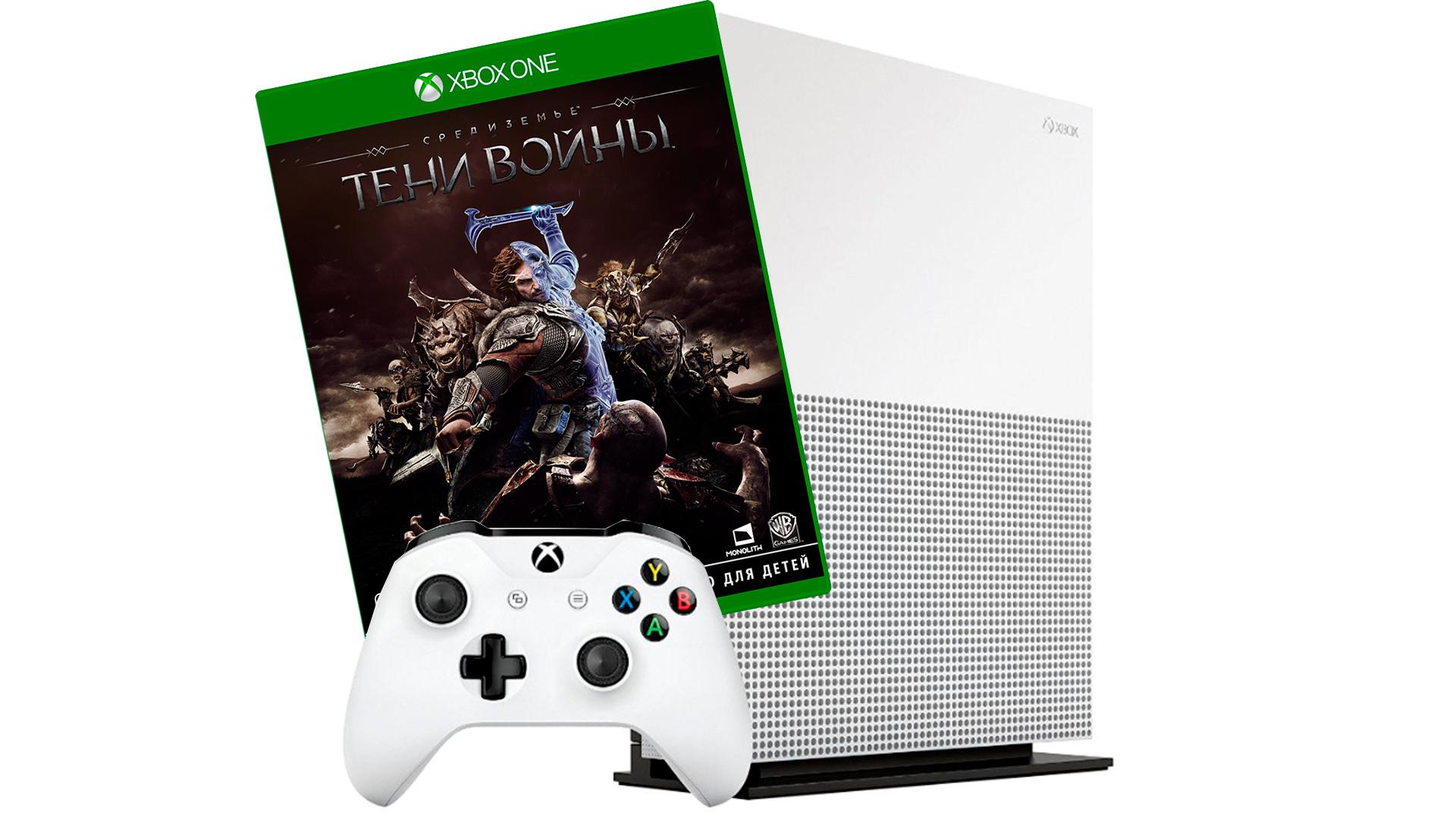 Xbox One S 500Gb и игра Средиземье: Тени войны [SXO5SRD]