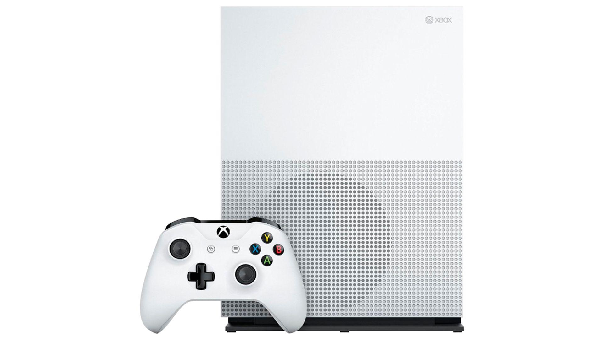 Xbox One S 500Gb 2 джойстика и FIFA 17 изображение 0