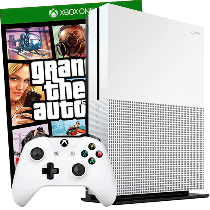 Xbox One S 500Gb GTA V