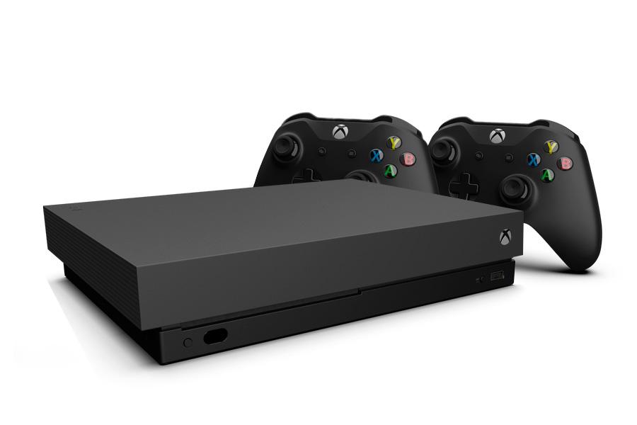 Xbox One X и 2 джойстика [XXO12]