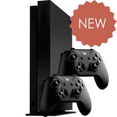 Xbox One X 2 джойстика