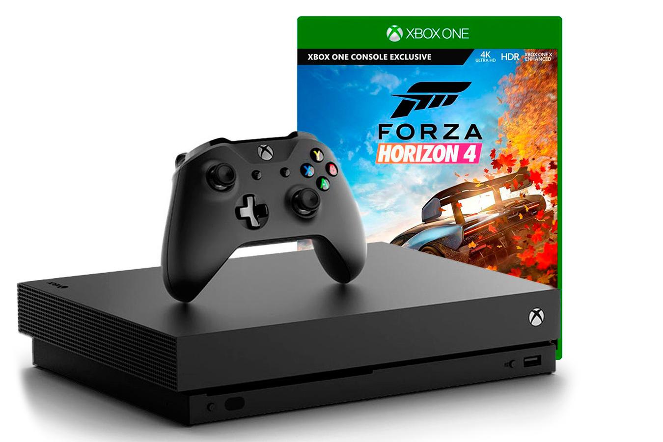 Xbox One X с игрой Forza Horizon 4 [XXO1FH4]