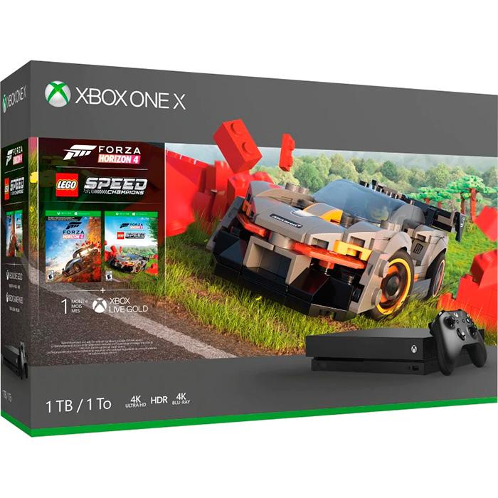 Xbox One X Forza 4, Lego DLC
