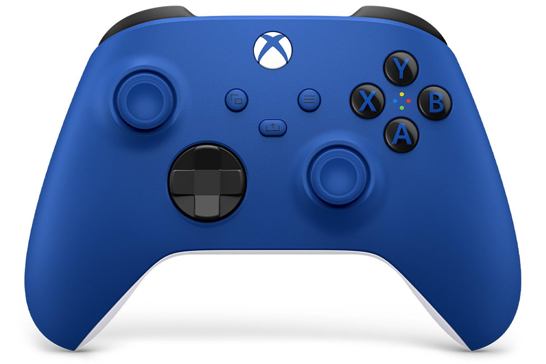 Геймпад Microsoft Xbox Series Shok Blue [QAT-00004]