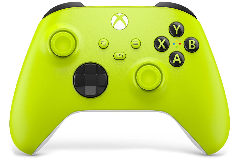 Геймпад Microsoft Xbox Series Electric Volt [QAT-00006]