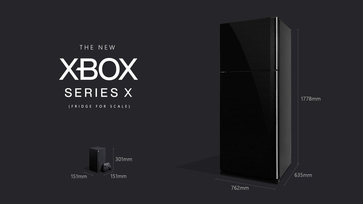 Xbox Series X габариты