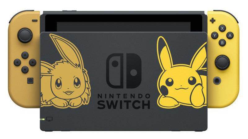Nintendo Switch Pikachu Eevee Edition, Pokemon: Lets Go, Pikachu! и Poke Ball