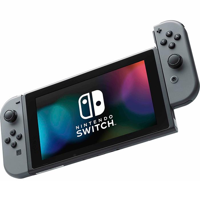 nintendo switch обновленная версия серый [nszcgr]