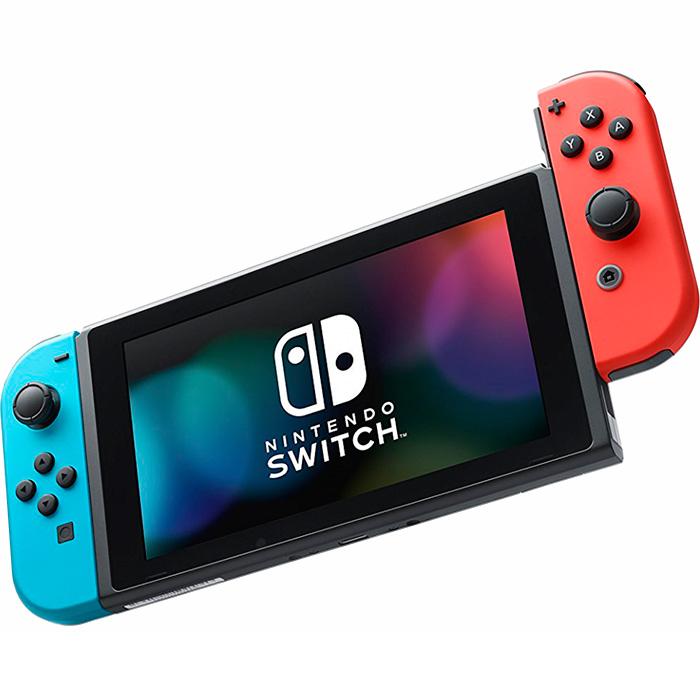 nintendo switch обновленная версия неоновый синий и красный [nszcrb]