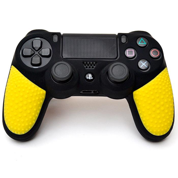 dualshock 4 силиконовый чехол желтая игуана [ps4jiy]