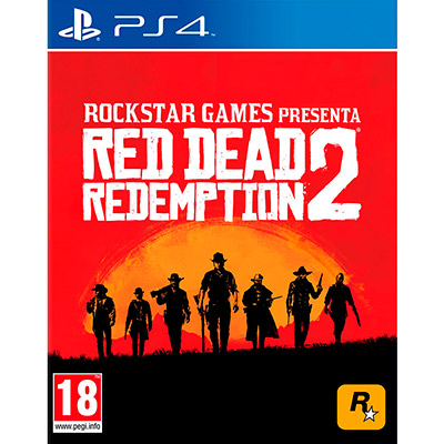 Red Dead Redemption 2 для Sony PlayStation 4 [RDRED2]