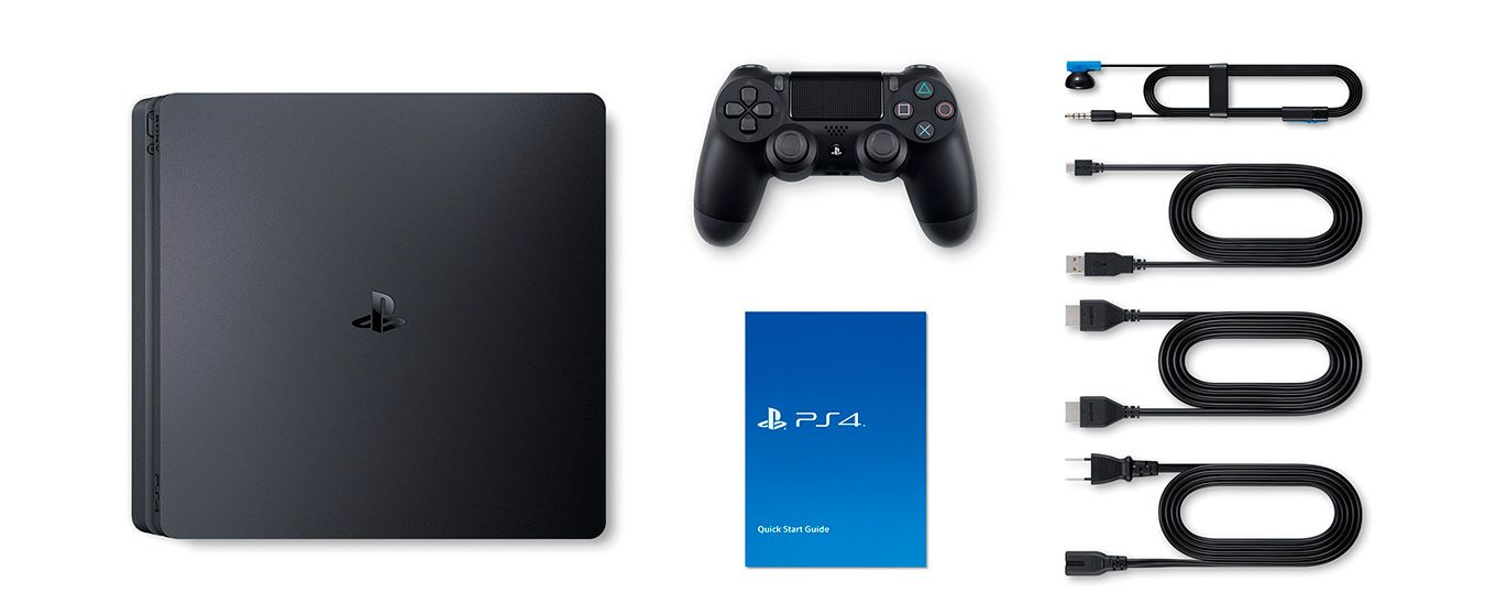 Комплектация PlayStation 4 SLIM