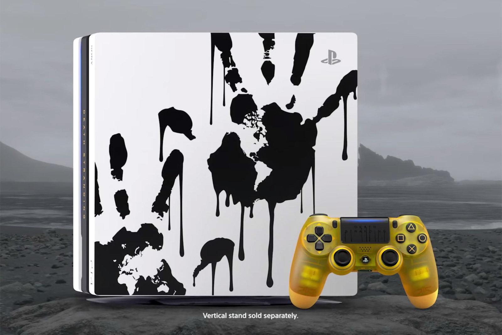 PlayStation 4 Pro Death Stranding Limited Edition bundle