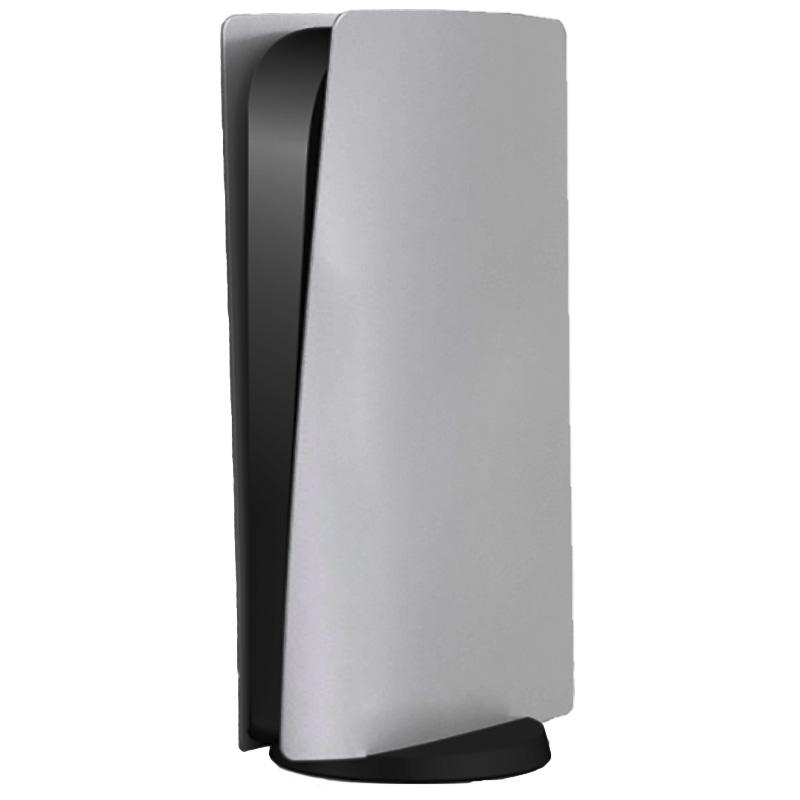 серебряный корпус для приставки playstation 5 digital edition [ps5ac0596s]