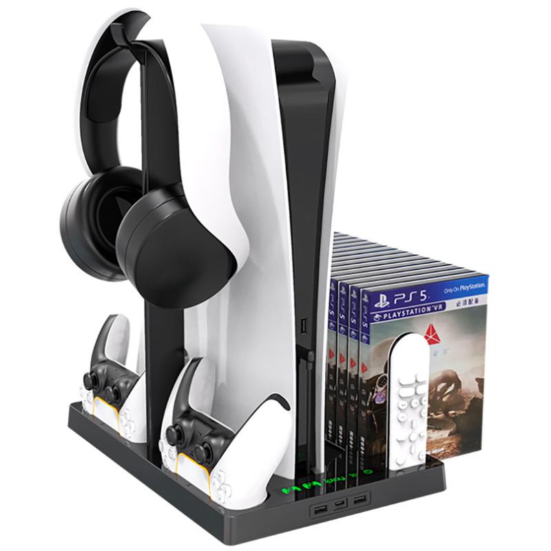 стенд с системой охлаждения для sony playstation 5 [ps5acshpb271]