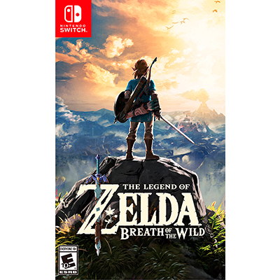 The Legend of Zelda: Breath of the Wild игра для Nintendo Switch [NSLoZ]