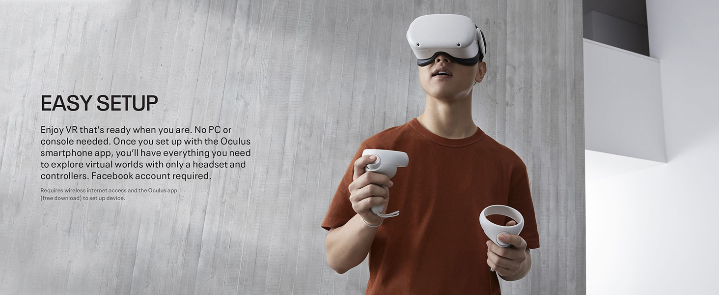 Oculus Quest 2 комплектация