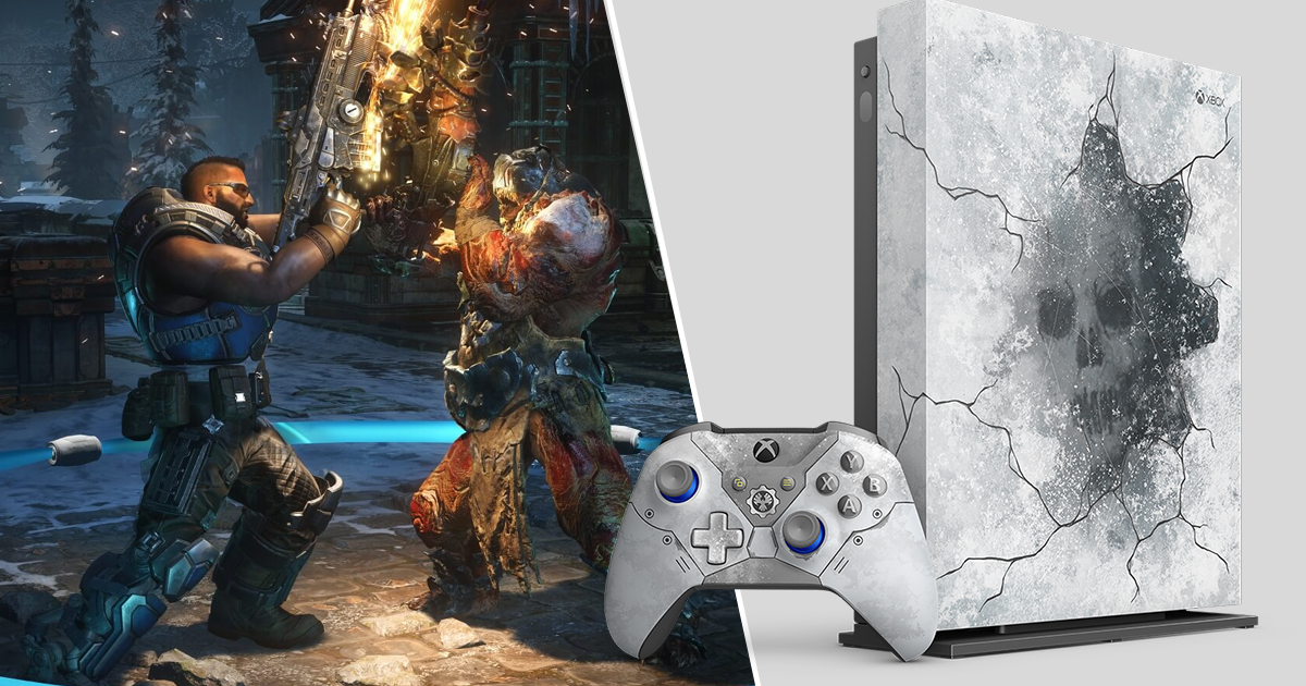 Xbox One X Gears 5 Special Edition