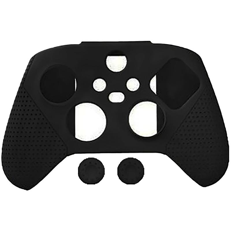 черный силиконовый чехол для геймпада xbox series [xbsatyx0626]